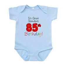 Great Grandpas 85th Birthday Body Suit