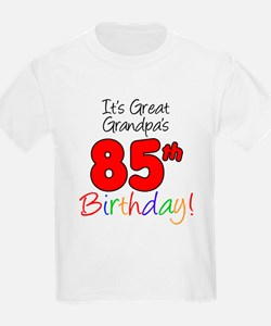 Great Grandpas 85th Birthday T-Shirt