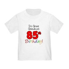 Great Grandmas 85th Birthday T-Shirt