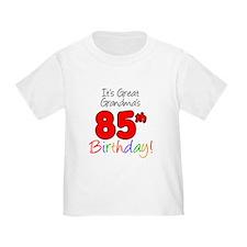 Great Grandmas 85th Birthday T-Shirt