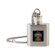 iFroCaramel10x10 Flask Necklace