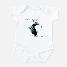 Malamute Warm Heart Infant Bodysuit