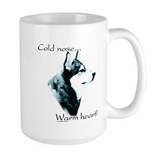 Malamute Warm Heart Coffee Mug