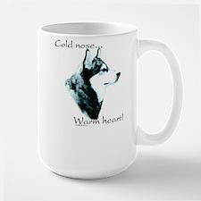 Malamute Warm Heart Mug