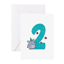 Second Birthday Greeting Cards (Pk of 20)