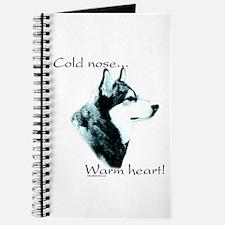 Malamute Warm Heart Journal