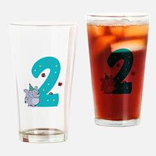 Second Birthday Drinking Glass