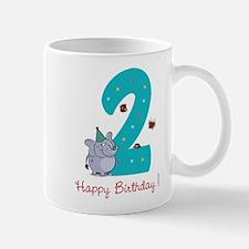 Second Birthday Mug