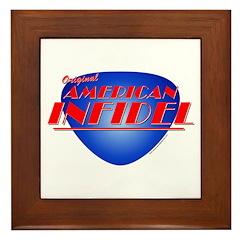 Original American Infidel Framed Tile