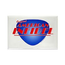 Original American Infidel Rectangle Magnet