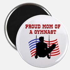 """SUPER GYMNAST MOM 2.25"""" Magnet (100 pack)"""