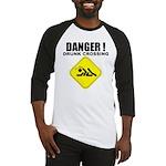 Danger! Drunk Crossing Baseball Jersey