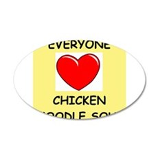 CHICKENSOUP Wall Decal