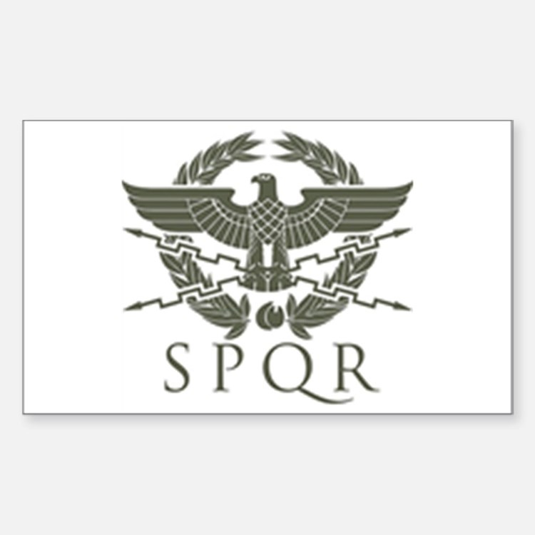 Roman Empire SPQR Decal