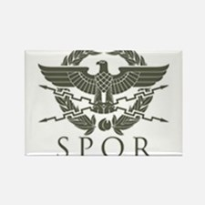 Roman Empire SPQR Rectangle Magnet