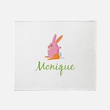 Easter Bunny Monique Throw Blanket