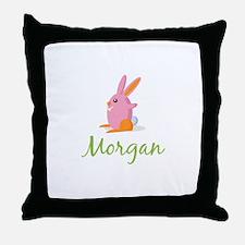 Easter Bunny Morgan Throw Pillow
