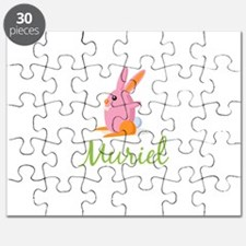 Easter Bunny Muriel Puzzle