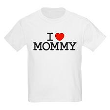 I Heart Mommy Kids T-Shirt