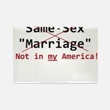 Same-Sex Marriage Rectangle Magnet