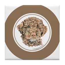 Cute Lagotto romagnolo Tile Coaster