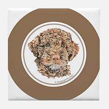 Cute Lagotto romagnolo Tile Coaster