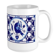Blue Bird of Happiness Mug
