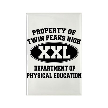 Twin Peaks High School Rectangle Magnet (100 pack)