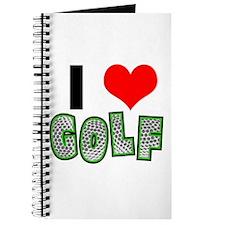 I Heart (Love) Golf Journal