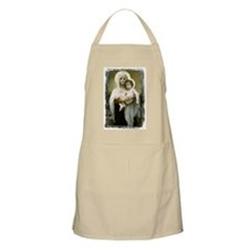 Madonna Of The Roses BBQ Apron