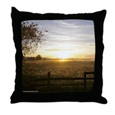 Sunrise Over Church Square Throw Pillow