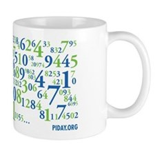 Collage of Digits Mug