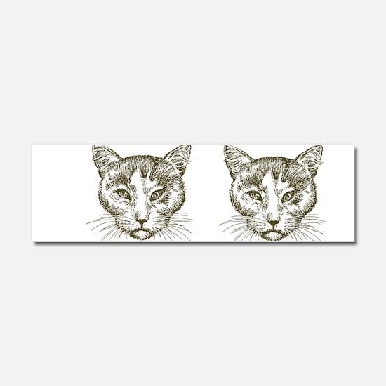 Grumpy Cat Car Magnet 10 x 3