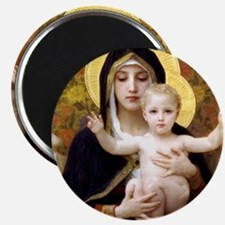 Madonna of the Lilies Magnet