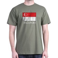 Singapore Flag T-Shirt