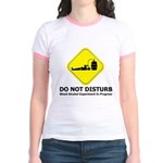 Do Not Disturb Jr. Ringer T-Shirt