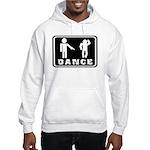 Funny dance figure Hooded Sweatshirt