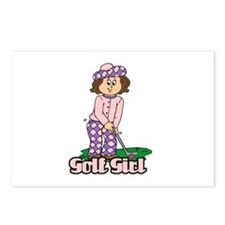 Golf Girl Postcards (Package of 8)