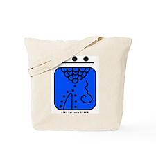 BLUE Galactic STORM Tote Bag