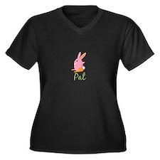 Easter Bunny Pat Plus Size T-Shirt