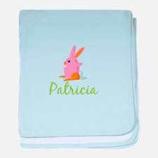 Easter Bunny Patricia baby blanket