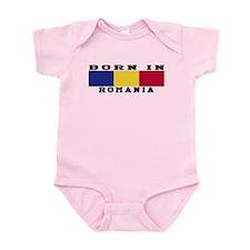 Born In Romania Infant Bodysuit