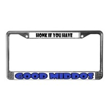 Cute Character traits License Plate Frame