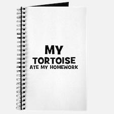 My Tortoise Ate My Homework Journal