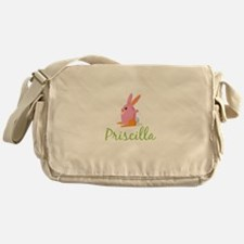 Easter Bunny Priscilla Messenger Bag