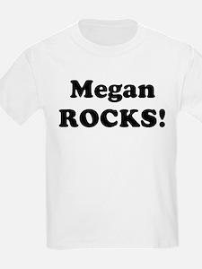 Megan Rocks! Kids T-Shirt