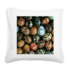 eggs2.png Square Canvas Pillow