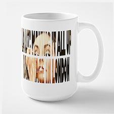 LaLiz: MakinItAllUp Large LeftHanded Mug