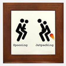 Spooning and Jetpacking Framed Tile