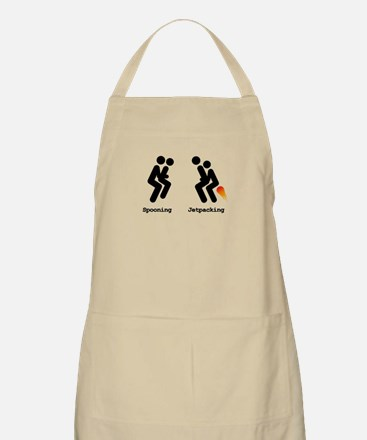 Spooning and Jetpacking Apron